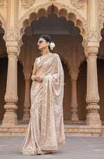 Heavy Mukaish Saree