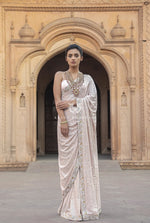 Kamdani Blush Pink Saree