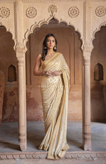 Kamdani Panch Phulia Georgette Saree