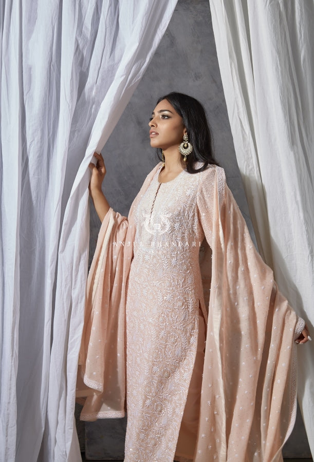 Kurta Set Blush Pink