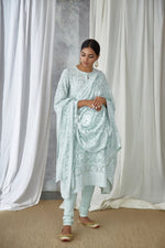 Kurta Set Powder Blue
