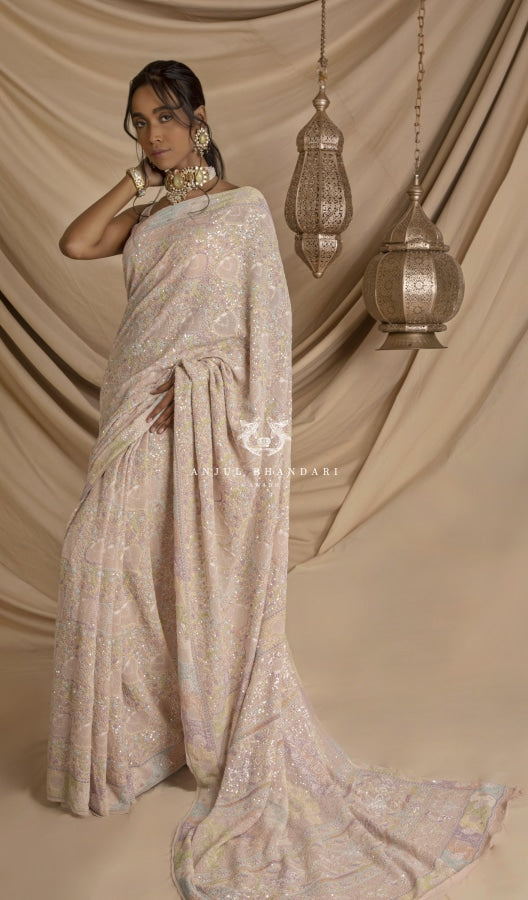 Saree Blush Pink