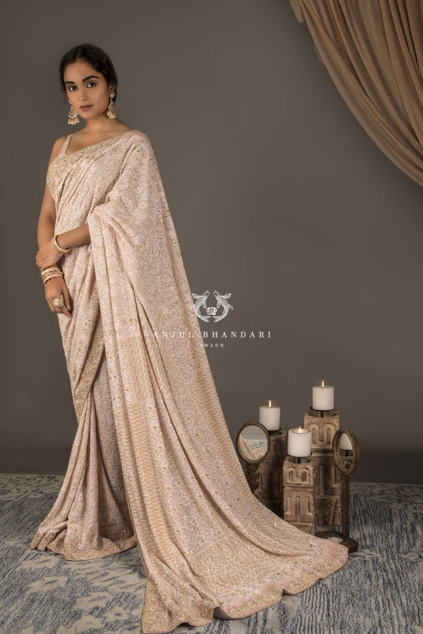 Load image into Gallery viewer, Saree Blush Pink