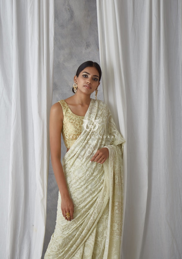 Load image into Gallery viewer, Saree Mint Green