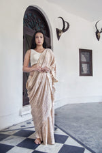 Saree Peach