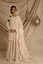 Sharara Champagne Set