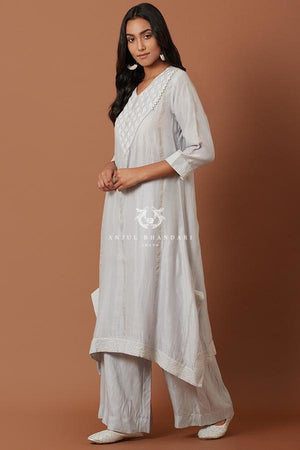 Load image into Gallery viewer, Sky Blue Kurta Set