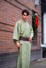 Load image into Gallery viewer, Brand New Light Green Kimono & Haori