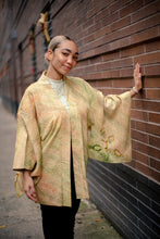 Load image into Gallery viewer, Silk Shibori Kimono Jacket