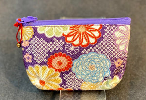 Crepe Fabric Coin Purse
