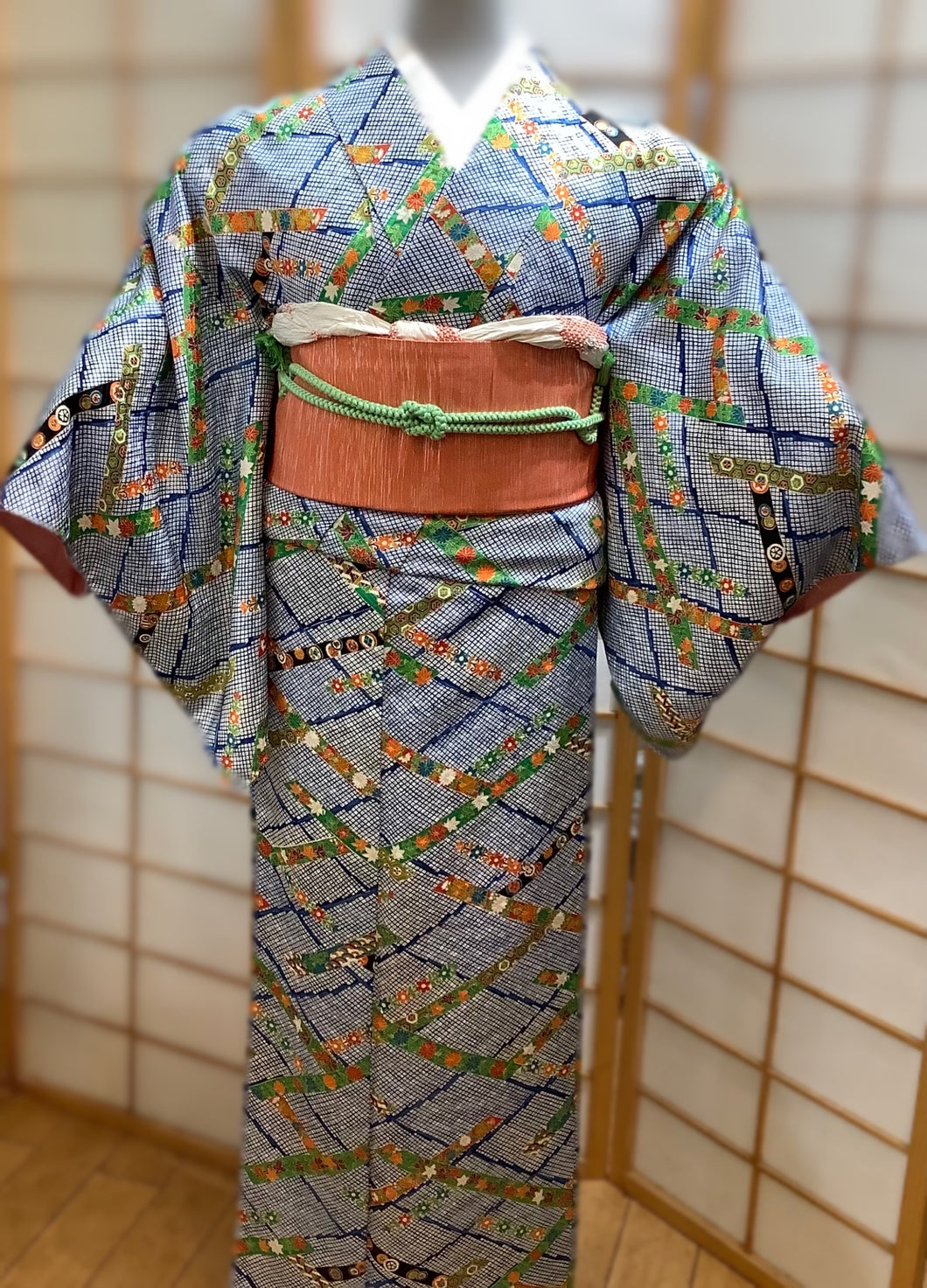 Satin Silk Women's Traditional Kimono