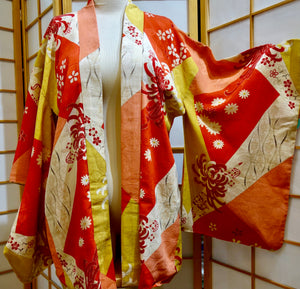 Silk Women's Haori Jacket - Celebration