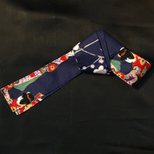 Load image into Gallery viewer, casual obi sash - printed cotton
