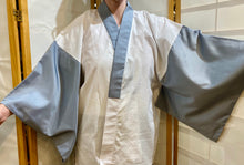 "Load image into Gallery viewer, Men's ""Juban"" undergarment with kimono sleeves"