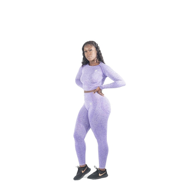 PURPLE MOVEMENT SEAMLESS SET