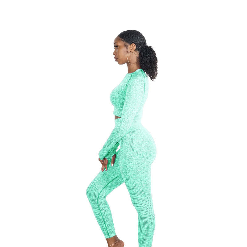 MINT GREEN MOVEMENT SEAMLESS SET