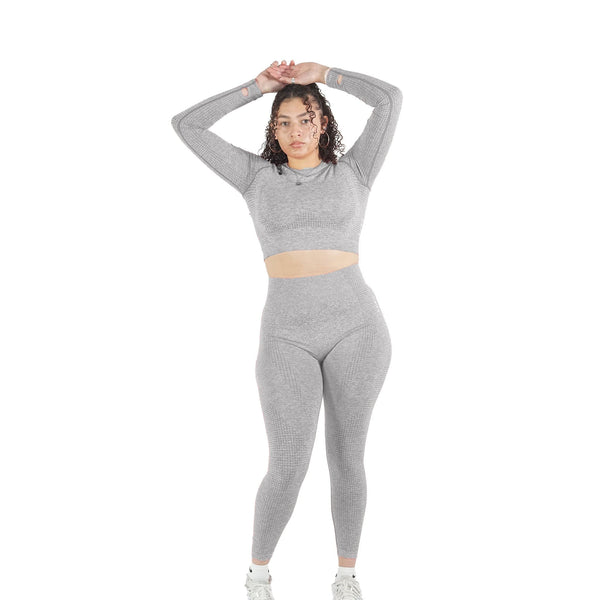 GRAY MOVEMENT SEAMLESS SET
