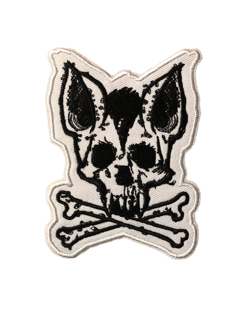 Cancer Bats Bat Skull & Crossbones Patch