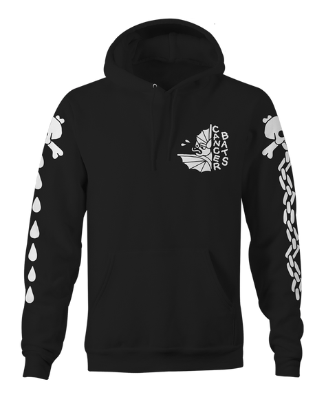 Cancer Bats Inside Out Pullover Hoodie