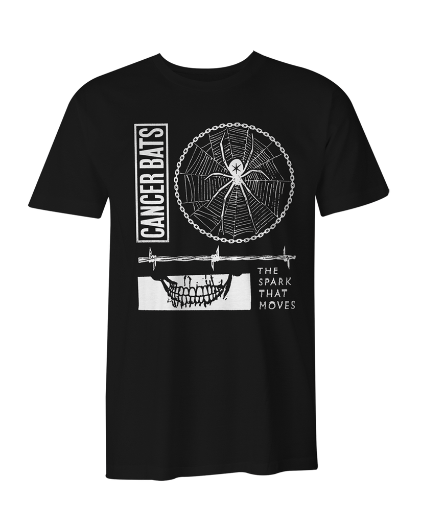Cancer Bats Spark T-Shirt