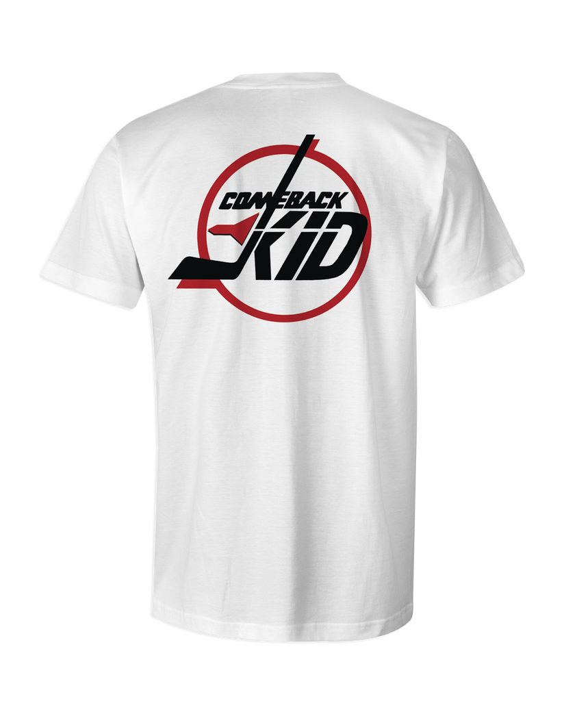 Comeback Kid Double Jets White T-Shirt