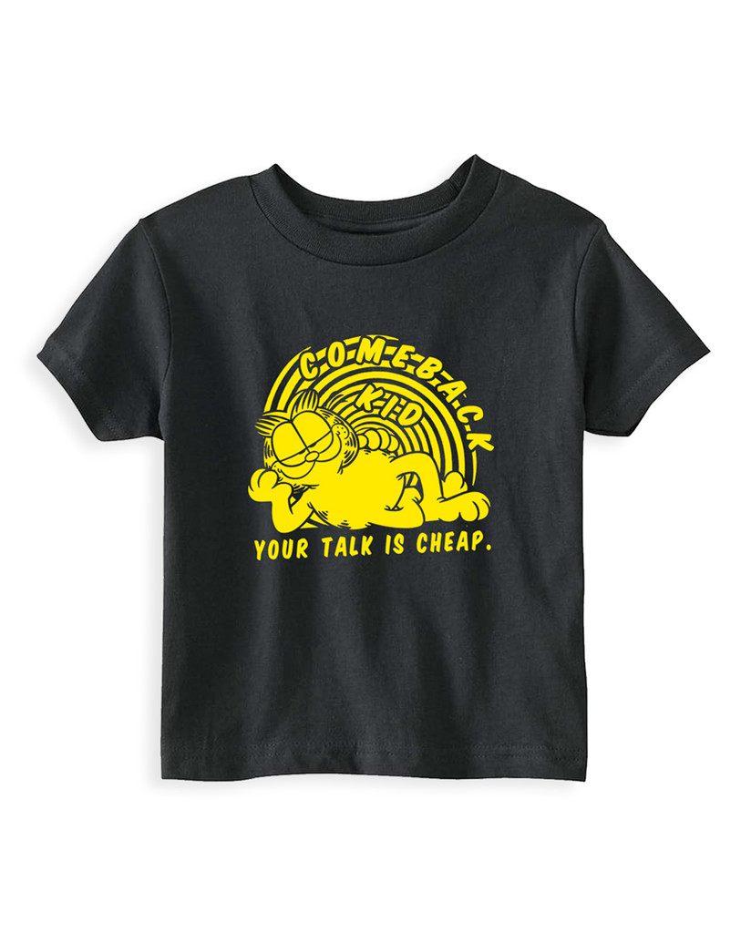 Cut Loose Kids -  Comeback Kid Garfield Toddler Tee