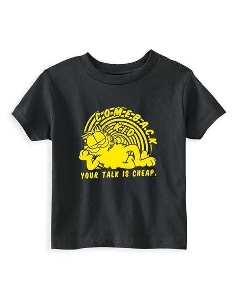Cut Loose Kids - Comeback Kid Garfield Youth Tee