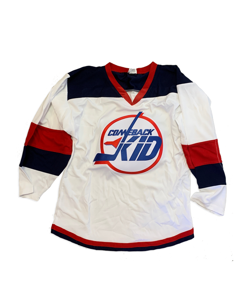 Comeback Kid Jets Hockey Jersey