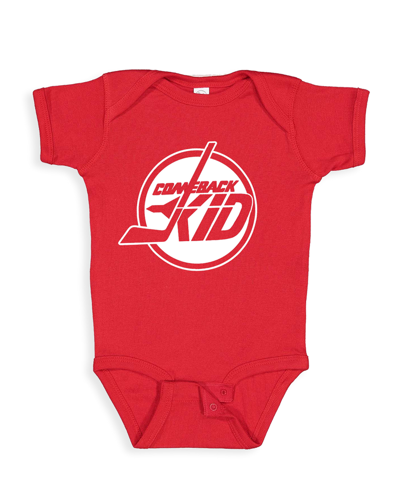Cut Loose Kids -  Comeback Kid Jets Onesie
