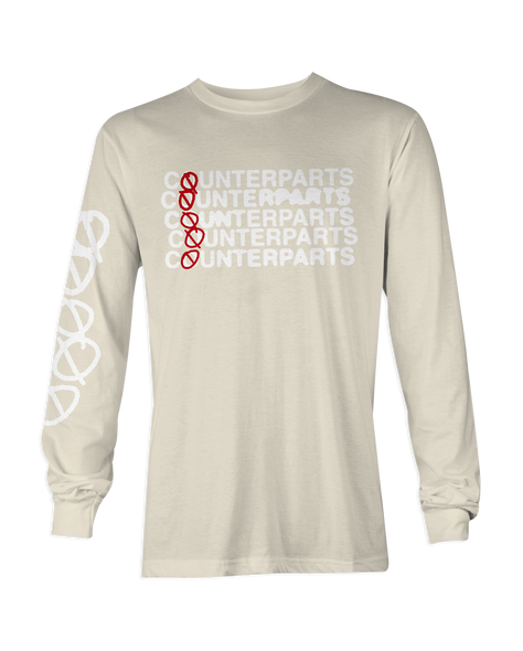 Counterparts Stacked Natural Long Sleeve
