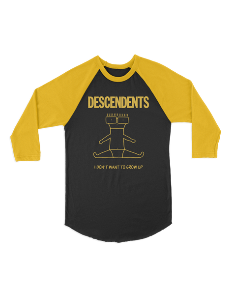 Descendents I Don't Want To Grow Up Raglan