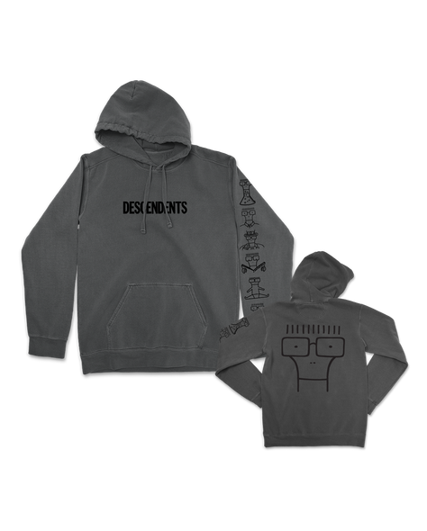 Descendents Milo Illustration Pullover Hoodie