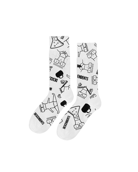 Descendents Milo Pattern Socks