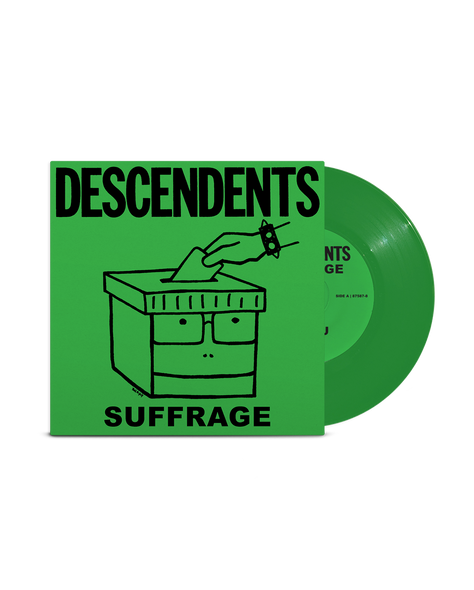 "Descendents Suffrage 7"" (Green)"