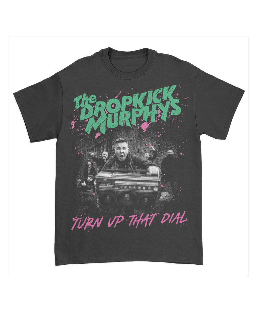 Dropkick Murphys Turn Up That Dial Photo T-Shirt