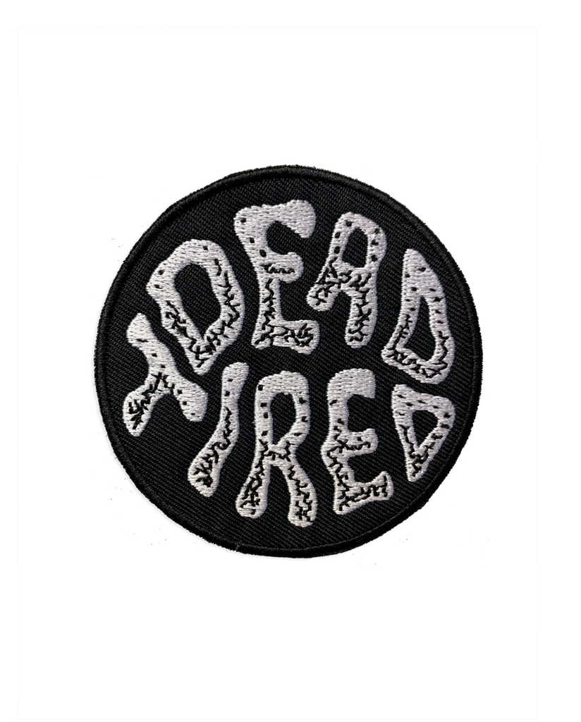 Dead Tired Logo Patch