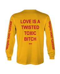 Dboy Love Is A Twisted Toxic Bitch Longsleeve