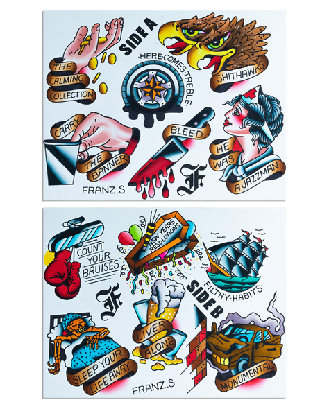 The Flatliners Cavalcade Flash Sheet Set