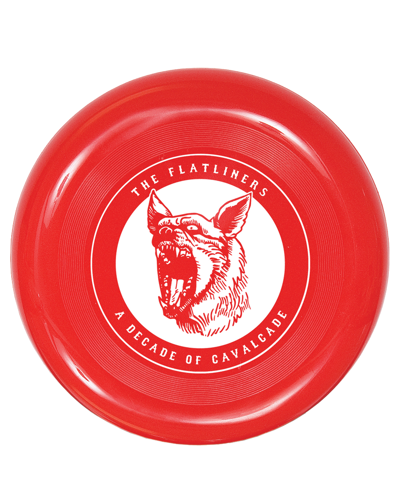 The Flatliners A Decade of Cavalcade Frisbee - Limited Quantity