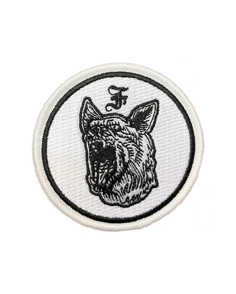 The Flatliners Dog Head Patch