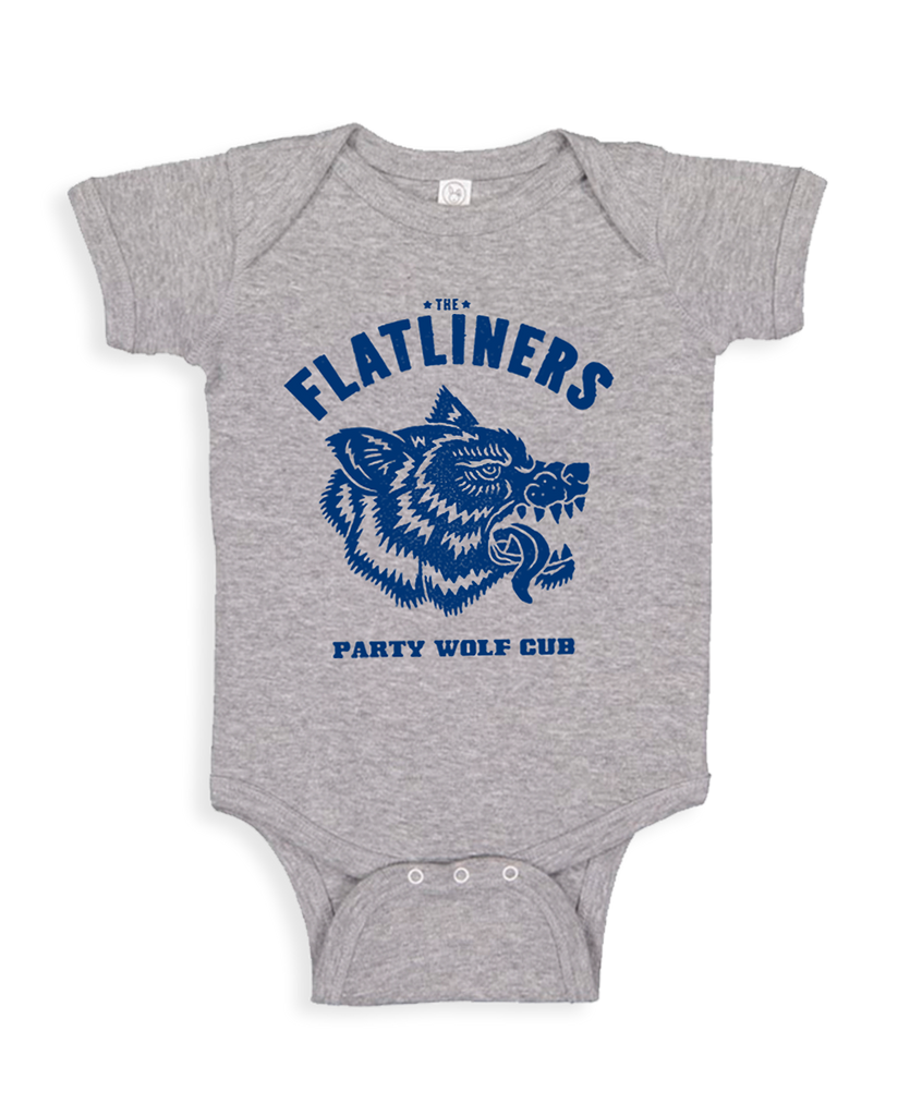 Cut Loose Kids -  The Flatliners Party Wolf Cub Onesie