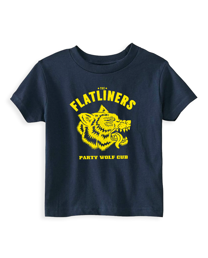 Cut Loose Kids -  The Flatliners Party Wolf Cub Toddler Tee