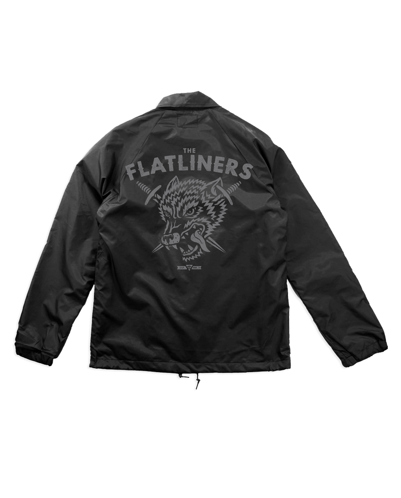The Flatliners Wolf Crest Coach Jacket