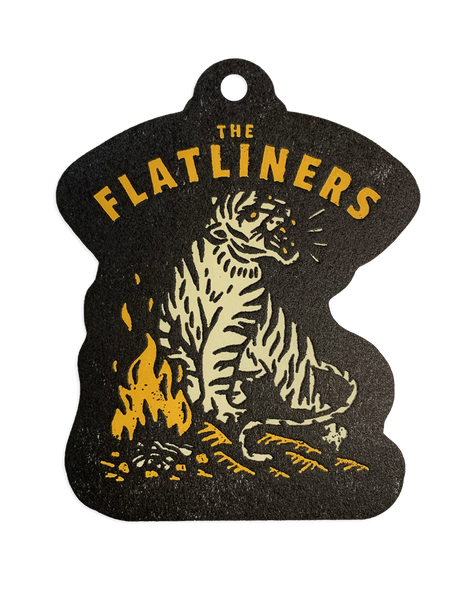 The Flatliners Tiger Air Freshener