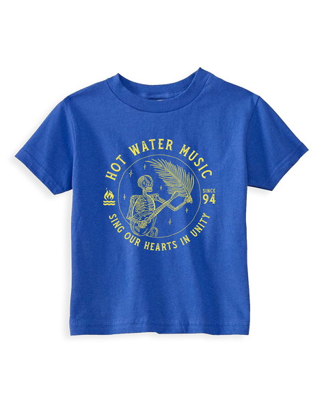Cut Loose Kids -  Hot Water Music Banjo Man Toddler Tee