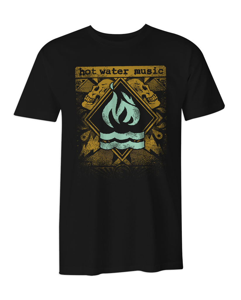 Hot Water Music Exister Tour T-Shirt