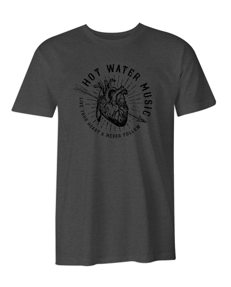 Hot Water Music Live Your Heart T-Shirt