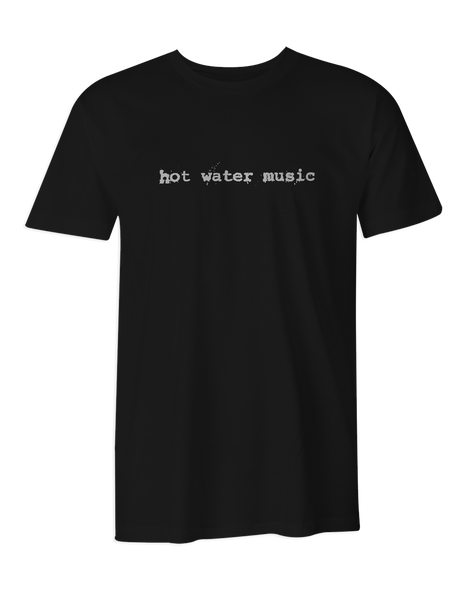 Hot Water Music Logo T-Shirt