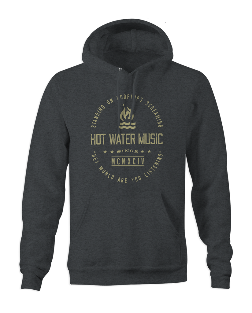 Hot Water Music Rooftops Pullover Hoodie