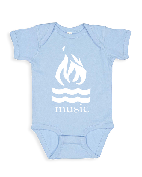 Cut Loose Kids -  Hot Water Music Traditional Logo Onesie